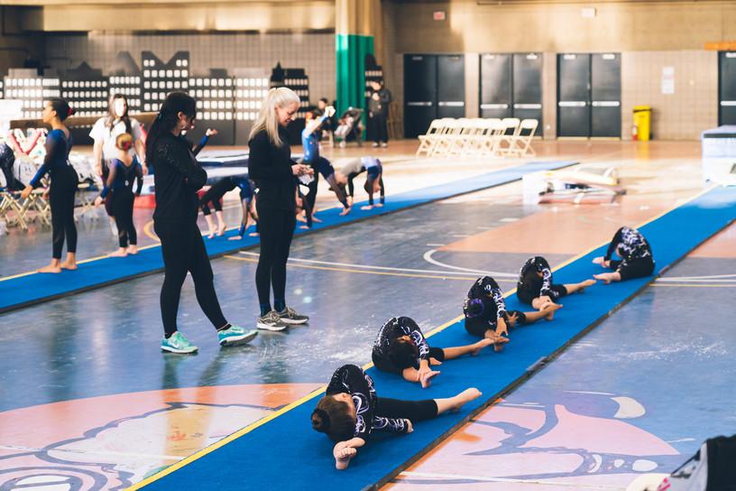 Industry Gymnastics Stretching