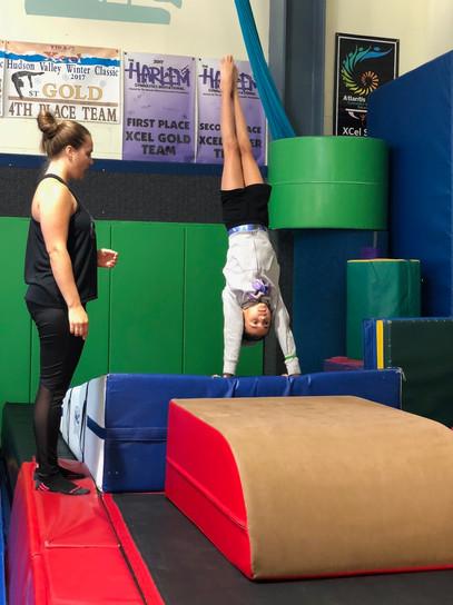 Industry Gymnastics Vault Drills