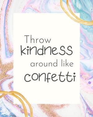 Confetti Quote