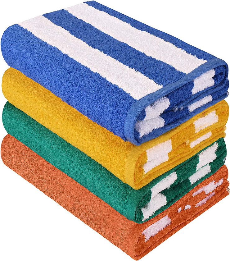 Adorable striped quick dry towels