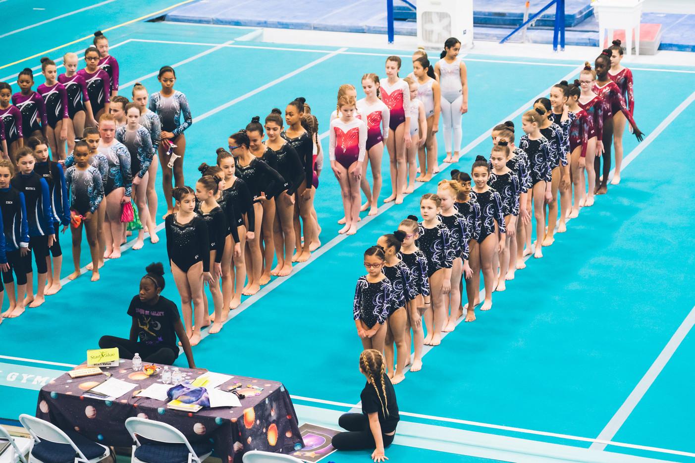 Industry Gymnastics Line-up