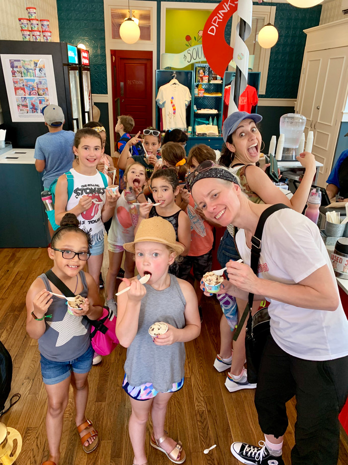 Industry Gymnastics Ice Cream Break