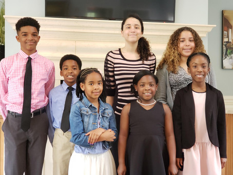 Raleigh-Wake Participates in Oratorical Contest