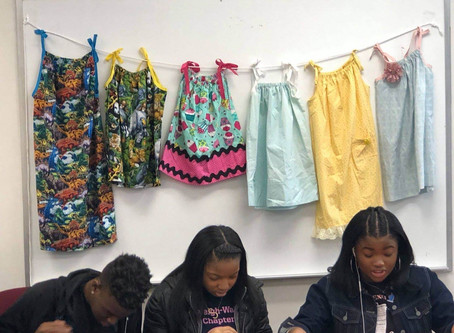 Raleigh Wake Teens Volunteer with the Pillowcase Project