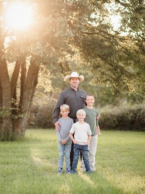 Laura Kellerman family dad sons
