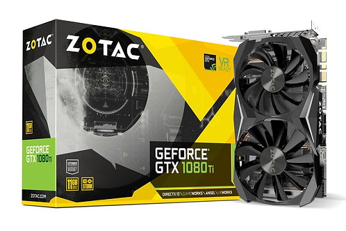 Видеокарта Zotac GeForce GTX 1080TI 11GB (ZT-P10810G-10P), 352Bit