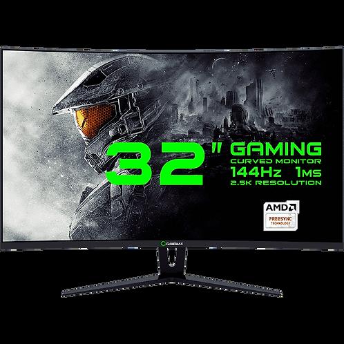 """Монитор 31,5"""" GameMax  GMX32CEWQ Black  (144Гц, WQHD - 2560 x 1440, Изогнутый)"""
