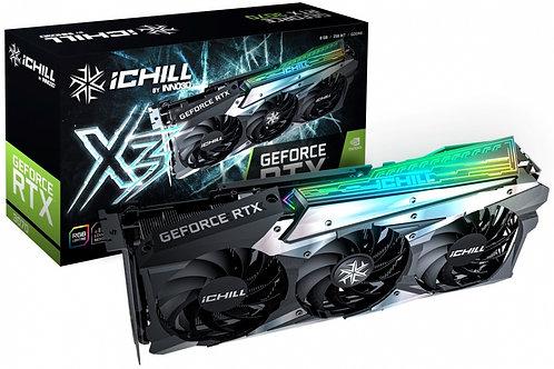 Видеокарта INNO3D GeForce RTX 3070 ICHILL X3 8GB (C30703-08D6X-1710VA38), 256Bit