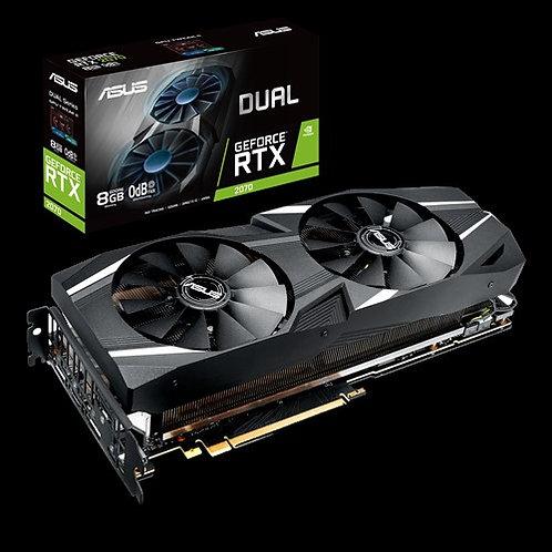 Видеокарта Asus GeForce RTX2070 8GB (DUAL-RTX2070-8G), 256Bit