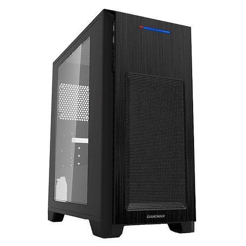 Корпус GameMax H603 2U3 (mATX, Black, Blue Led)