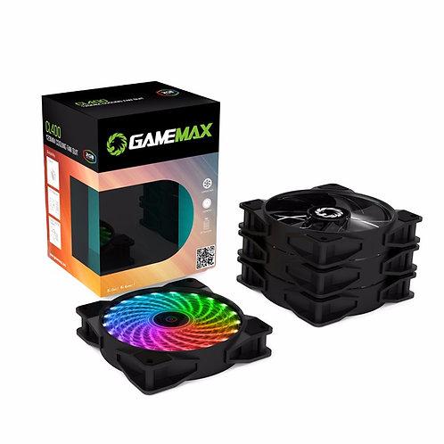 Комплект вентиляторов GameMAX CL400 4*120мм RGB в комплекте с контроллером