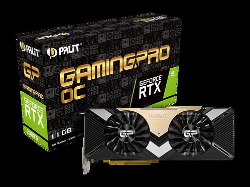 Видеокарта PALIT GeForce RTX2080TI 11GB (PA-RTX2080 GAMPRO OC 11G), 352Bit