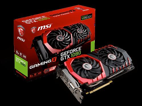 Видеокарта MSI GeForce GTX 1080 8GB (GAMING X 8G), 256Bit
