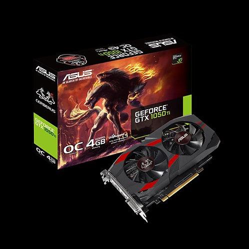 Видеокарта ASUS GeForce GTX1050TI 4GB (CERBERUS-GTX1050TI-O4G), 128Bit