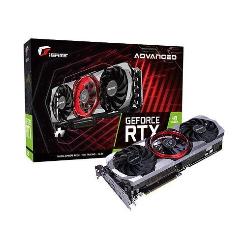 Видеокарта Colorful GeForce RTX 3070 8GB (Advanced OC-V), 256Bit