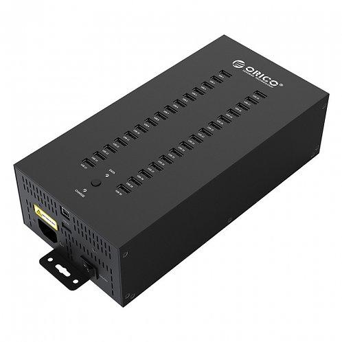 Концентратор ORICO IH30P-U2-BK (multi), 30*USB 3.0/Зарядное устройство 30*USB 5В