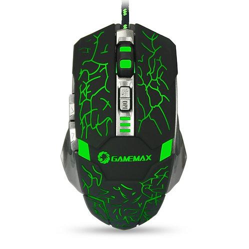Мышь GameMax GX1, 6 кн., 800/1200/1600/2400 dpi