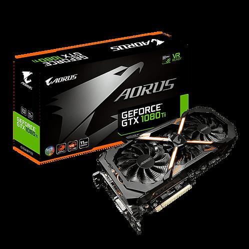 Видеокарта Gigabyte GeForce GTX 1080TI 11GB (GV-N108TAORUS-11GD), 352Bit