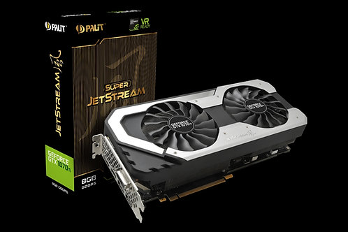 Видеокарта Palit GeForce GTX 1070TI 8GB (PA-GTX1070TI SUPER JETSTREAM), 256Bit