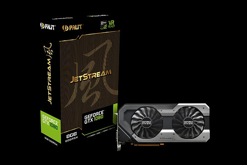 Видеокарта Palit GeForce GTX 1080 8GB (PA-GTX1080 JETSTREAM 8G), 256Bit