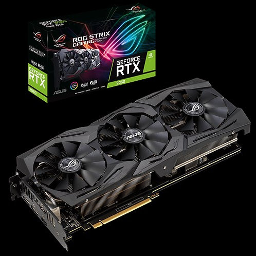 Видеокарта Asus GeForce RTX2060 6GB (ROG-STRIX-RTX2060-A6G-GAMING), 192Bit
