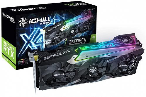 Видеокарта INNO3D GeForce RTX 3070 ICHILL X4 8GB (C30704-08D6X-1710VA35), 256Bit