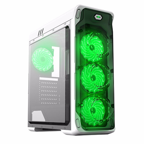 Корпус GameMax StarLight-W-Green