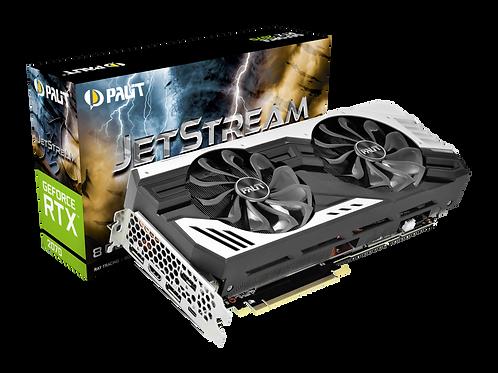 Видеокарта PALIT GeForce RTX2070 8GB (PA-RTX2070 JETSTREAM 8G), 256Bit