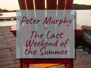 Peter Murphy: Writing about Siblings