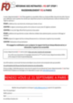 Rassemblement 21 septembre tract bulleti