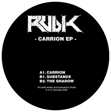 RUBIK - CARRION (DOM004)