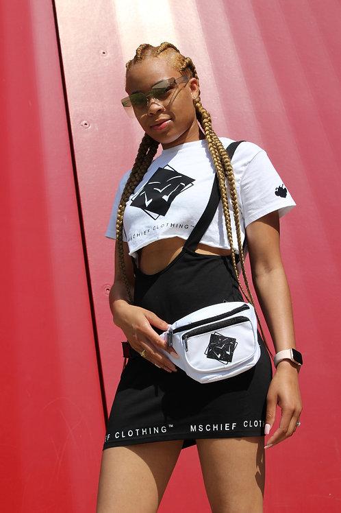 Mschief Crop top X Overall Skirt