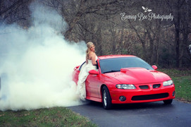 Beautiful Brides & Fast Cars!