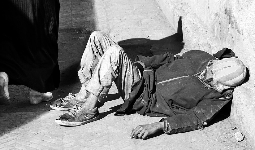 MONO - Moroccan Homeless by Danny McCaughan (6 marks)