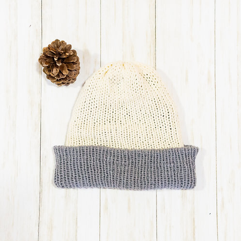 Double Thick Reversible Knit Beanie