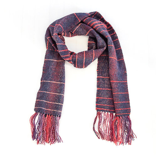 Berry Cobbler Wool Scarf