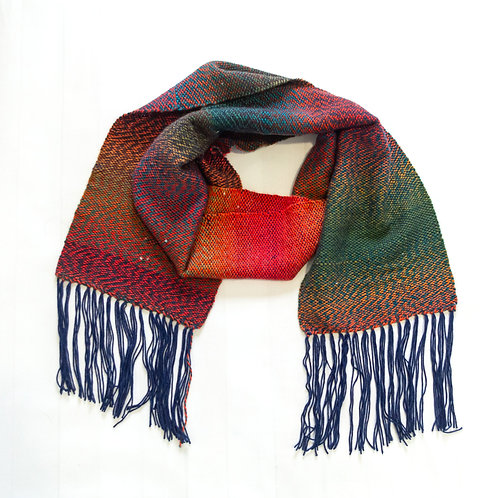 Autumn in the Mountains Scarf