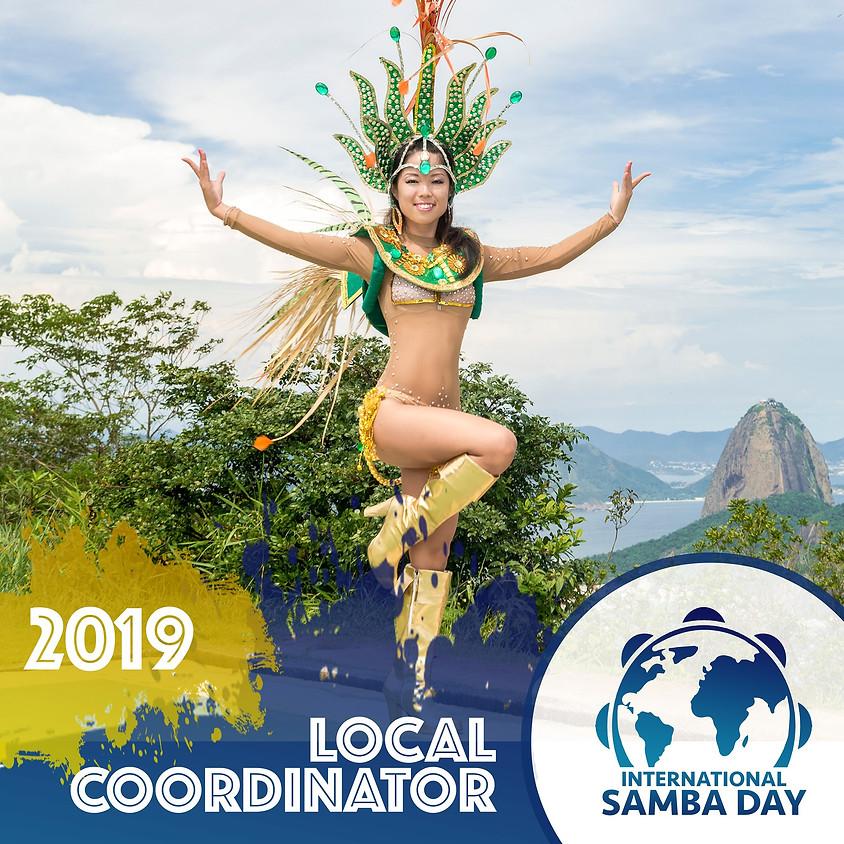 International Samba Flash mob