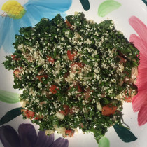 Tabbouleh with Essential Oils