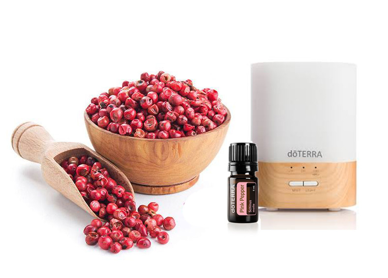 Pink Pepper Diffuser Blends doTERRA Essential Oils