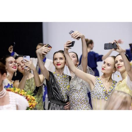 OLGA KUNITSINA FASHION SHOW на неделе Моды в Москве.