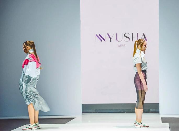 НЮШАна неделе моды с дебютным показом NYUSHA WEAR / MOSCOW FASHION WEEK