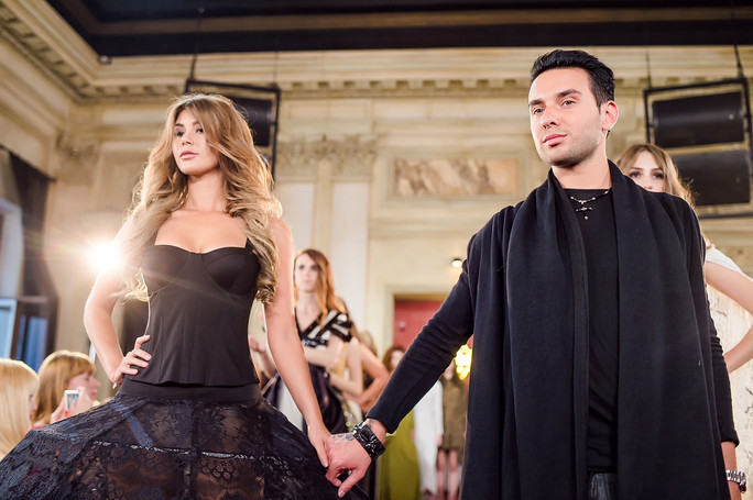 #GLYANETS_BLOGGMAGAZINE: Fashion show by Apollon Bygakoff on #DRESSPARAD