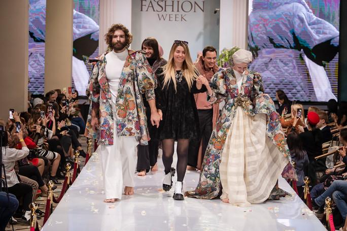 Закрытие «Estet fashion week» в Москве