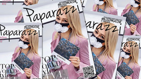 Яна Рудковская в маске от CHANEL на обложке #PAPARAZZI BLOGGMAGAZINE #11-2020