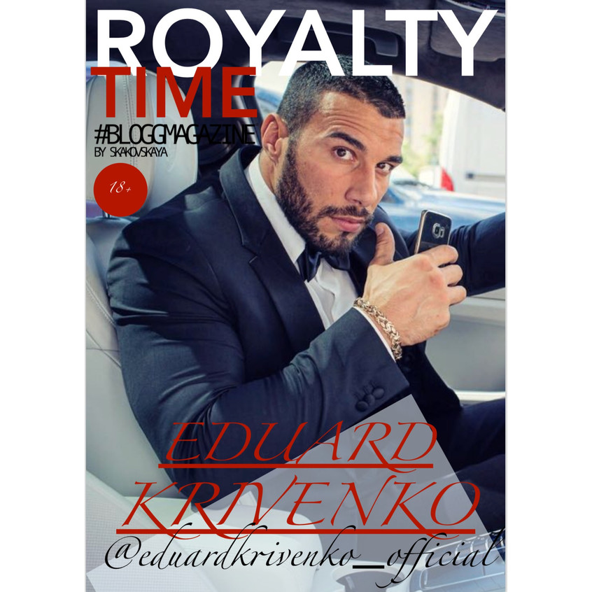 royalty time, bloggmagazine, cover