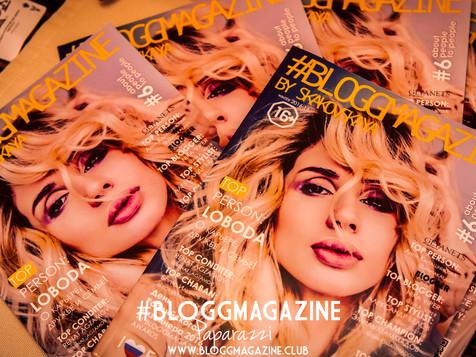 Presentation of the #BLOGGMAGAZINE by Skakovskaya & ModelinGG #Party6