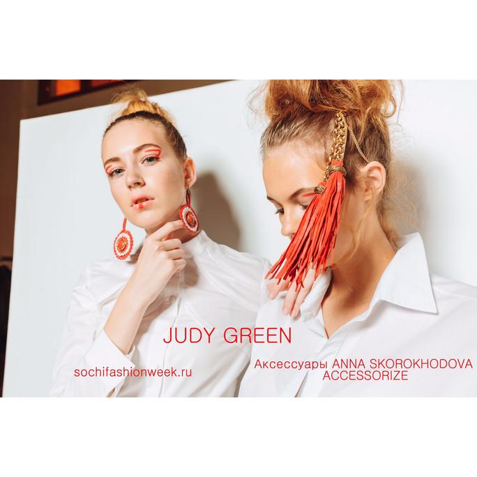 JUDY GREEN & ANNA SKOROKHODOVA на Sochi Fashion Week