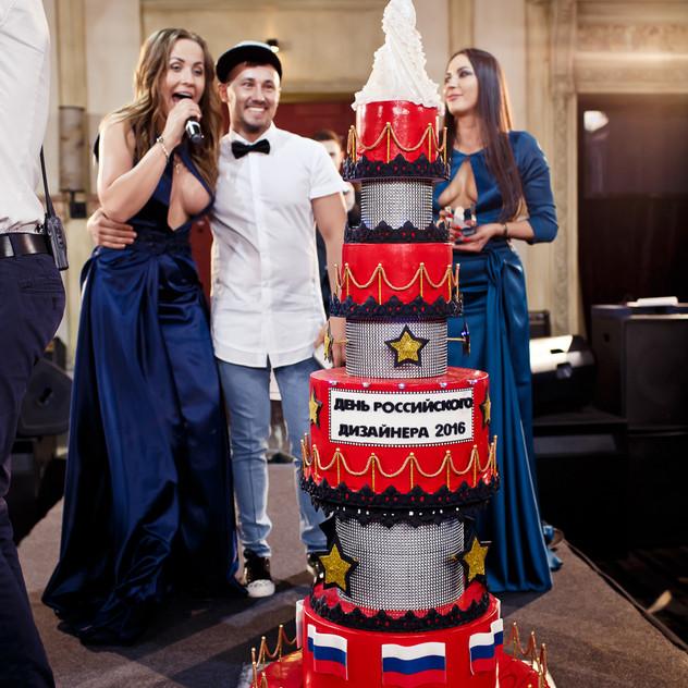 Праздничный торт от ALEX KUSH