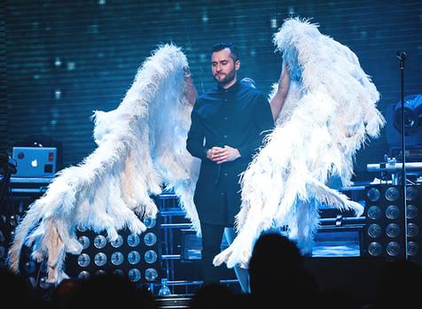 В Москве состоялся большой сольный концерт и презентация альбома «Ангелы и демоны»Ираклия Пирцхала